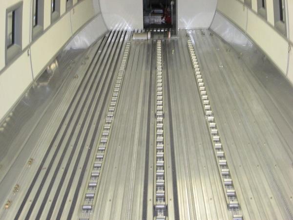 Douglas Dc 3 Bt 67 Roller Floor Installation Lake